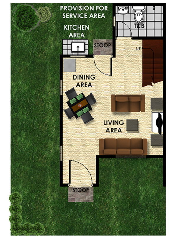 Armina Single Firewall lumina pagadian city ground floor plan