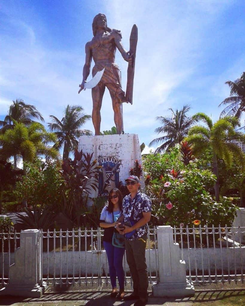Cebu Philippines Mactan lapu lapu shrine