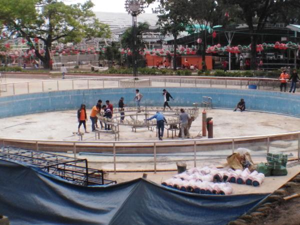 Pagadian City Dancing Fountain