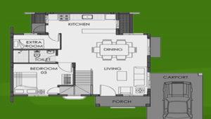 camella homes freya floor plan ground floor