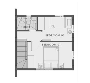 bella camella floor plan second floor