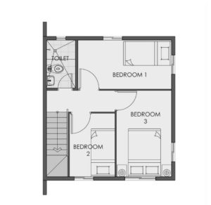 cara camella floor plan second floor